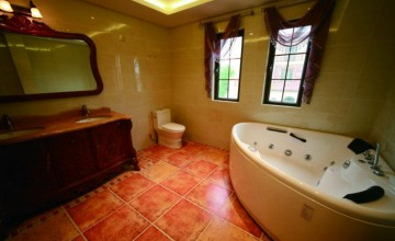 热情的东南亚风格120平米三居室装修效果图
