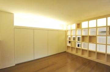 温馨日式风格60平米loft装修效果图