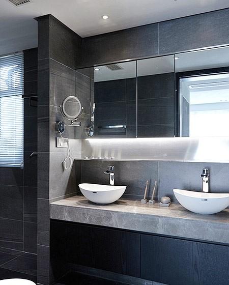 细致气派的现代简约风格140平米四居室装修效果图