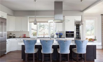 充满立体感的美式风格150平米别墅装修效果图