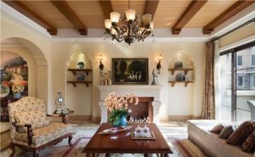 质朴温暖美式风格100平米复式loft装修效果图