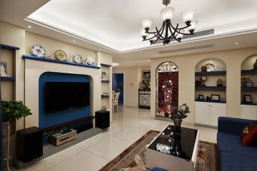 特色的地中海风格130平米四居室装修效果图