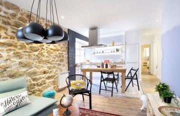 朴实的田园风格40平米一居室装修效果图