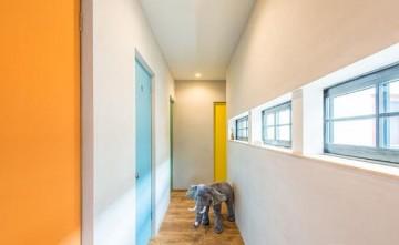 原木实用日式风格150平米别墅装修效果图