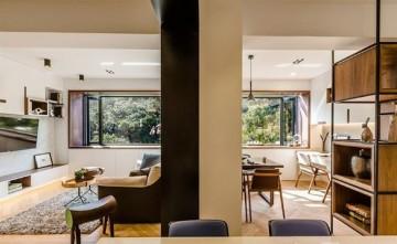 古典雅致日式风格80平米二居室装修效果图