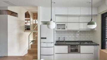 紧凑型日式风格90平米复式loft装修效果图