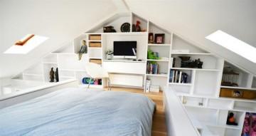 现代时尚日式风格100平米复式loft装修效果图