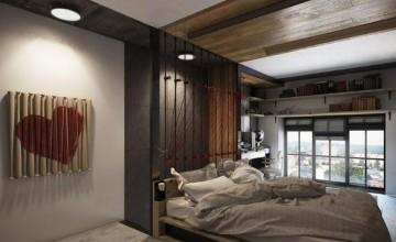 日式迷你50平米复式loft装修效果图