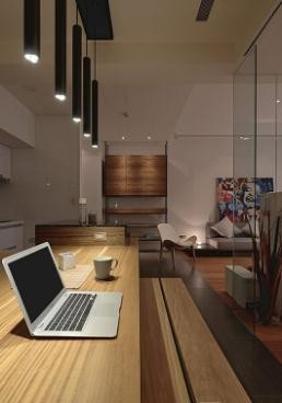平凡简洁日式风格90平米公寓装修效果图
