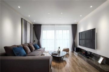 质朴精致的北欧风格二居室装修效果图