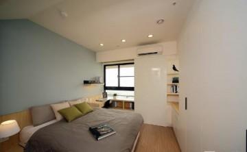 现代温馨日式风格120平米四居室装修效果图