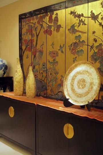 古韵典雅中式风格70平米一居室装修效果图