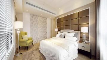 唯美清新新古典风格120平米三居室装修效果图