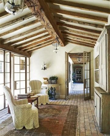 乡村复古的北欧风格小别墅装修效果图