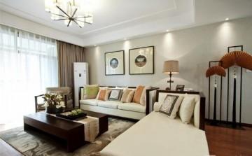 高雅温润新古典风格80平米一居室装修效果图