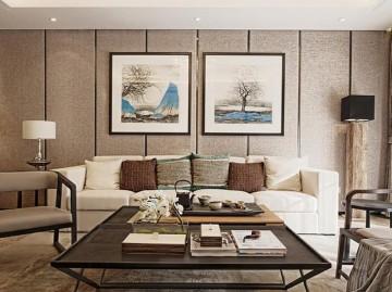 唯美奢华中式风格140平米四居室装修效果图