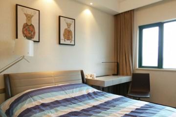 泼墨中式风格120平米四居室装修效果图
