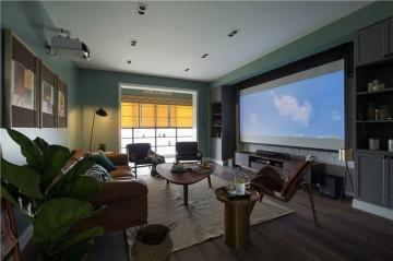 清爽的北欧风格四居室装修效果图
