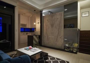 现代艺术新古典风格100平米复式loft装修效果图