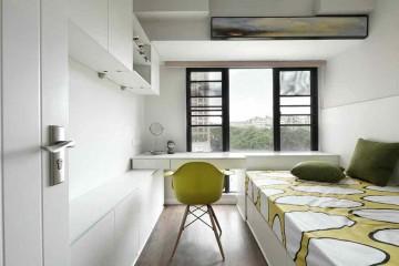 大方时尚现代简约风格100平米四居室装修效果图