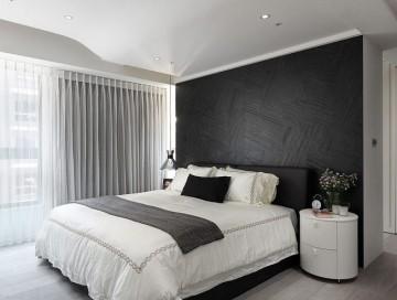 清爽简洁现代简约风格100平米三居室装修效果图