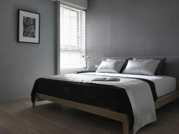 清爽现代简约风格70平米一居室装修效果图