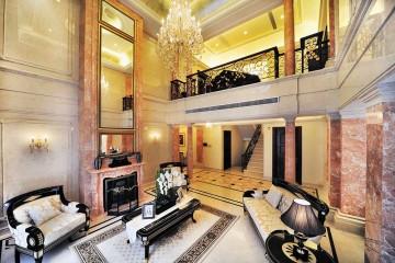 奢华辉煌新古典风格280平米别墅装修效果图
