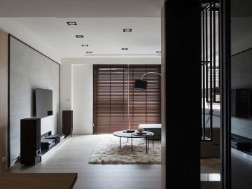 整洁典雅现代简约风格120平米四居室装修效果图