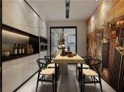 大气简约现代300平复式餐厅装修效果图