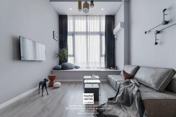 活力岛民宿现代风格实景装修案例
