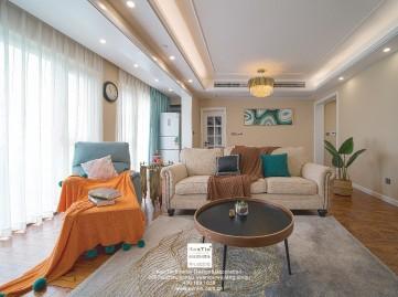 太阳城星辰花园现代简约三居室装修案例