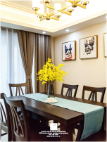 实景案例尊域雅苑简美风格两居室