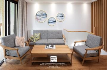海尚壹品日式风格两居室装修实景案例