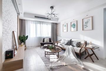 领袖金品北欧风格三居室装修实景案例