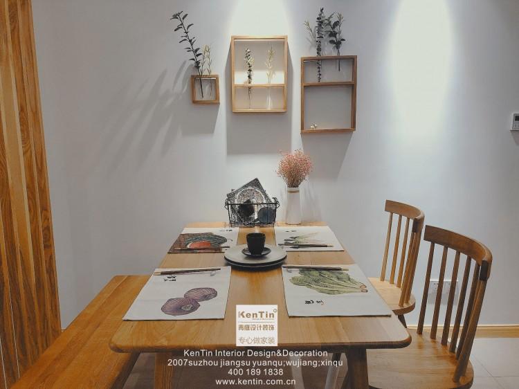 阳光天地北欧风格三居室装修实景案例