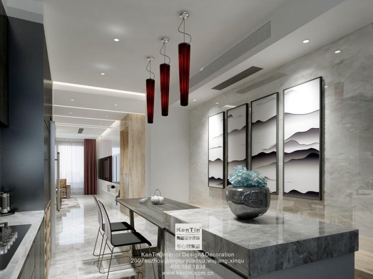 丰谷景园现代简约三居室装修效果图