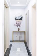 南山维拉现代风格三居室实景案例