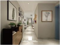 四季晶华现代简约风格三居室