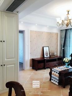 惠宇华庭美式风格三居室