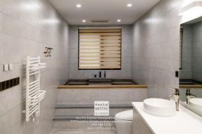 璞缇墅台式风格别墅卫生间装修实景图