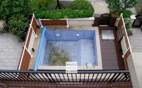 璞缇墅台式风格别墅游泳池装修实景图