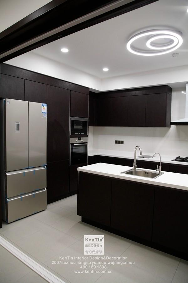 璞缇墅台式风格别墅厨房装修实景图