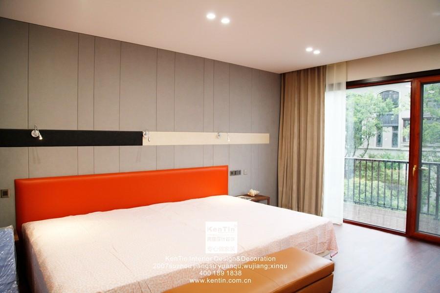 璞缇墅台式风格别墅卧室装修实景图