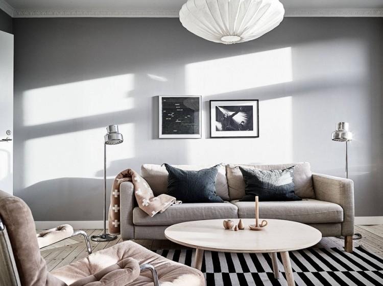现代简约风格一居室装修效果图