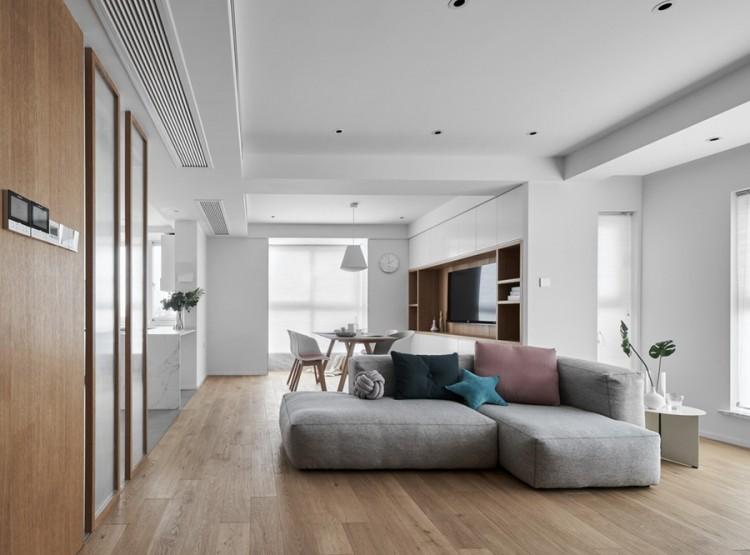 日式风格三居室装修效果图