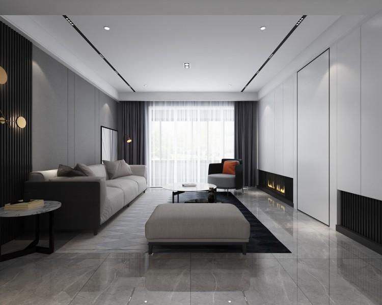 天之运现代简约风格四居室装修效果图