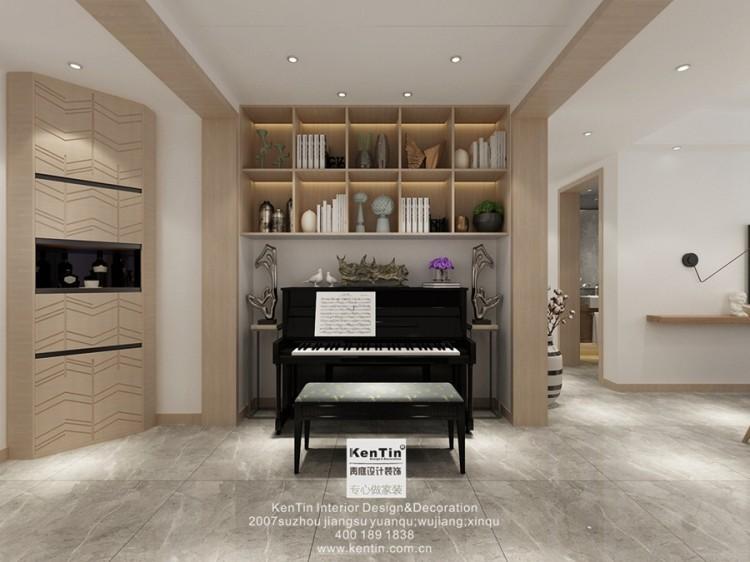 南门世家现代简约风格客厅装修效果图