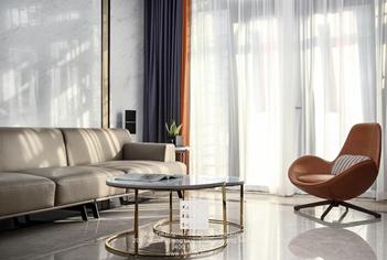 世茂石湖湾现代风格别墅装修实景案例