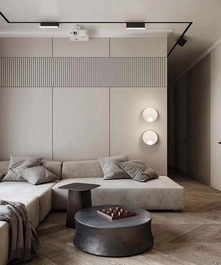 现代风格三居室装修效果图