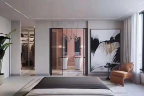 现代风格三居室卫生间装修实景案例